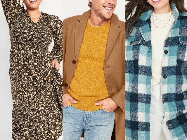 Score 50% Off Your Purchase During Old Navy's Giftober Sale