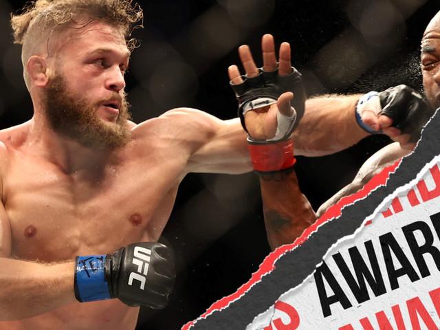 UFC 265: Lewis vs. Gane - Unofficial Awards