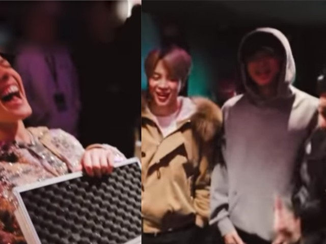 This Video Of BTS Giving Halsey Her Christmas Gift Will Make You So Jealous