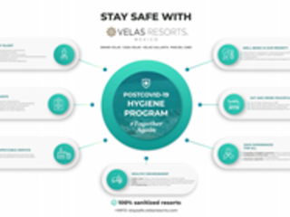 Velas Resorts Implements Comprehensive 'Stay Safe With Velas' Program