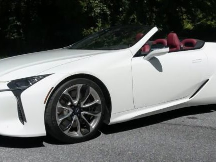 Road Tests: 2021 Lexus LC 500 Convertible