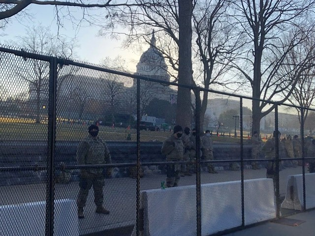 Capitol Police arrest Virginia man who tried to pass security checkpoint with gun, 'unauthorized' inauguration credential
