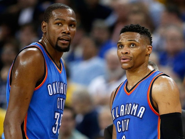Kevin Durant snapped back at a former teammate who said Russell Westbrook was the best player in Thunder history