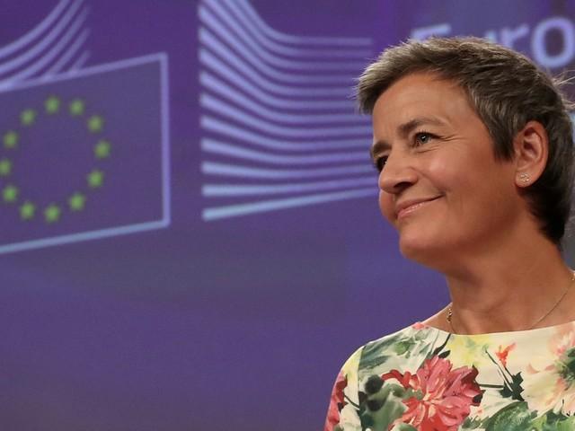 EU's Vestager Backs Twitter for Banning Political Ads, Berates Facebook