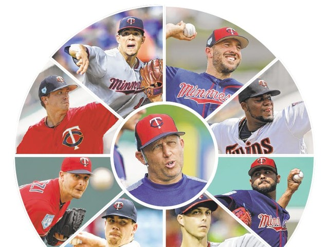 Twins put a new spin on familiar pitching staff
