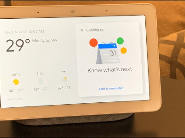 Can You Put a Smart Display On Top of Your Microwave?