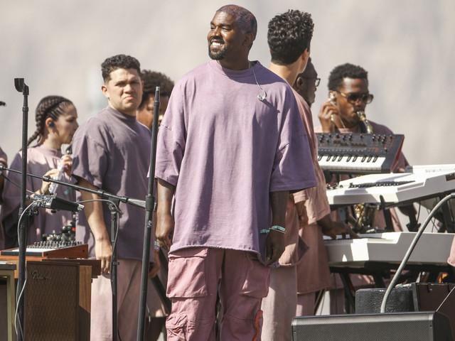 What the Kardashians wore to Kanye West's Coachella Sunday Service performance