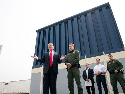 "Trump Touts ""Big Victory"" After Supreme Court Allows Military Funding For Border Wall"