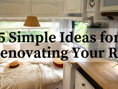 5 Simple Ideas for Renovating Your RV