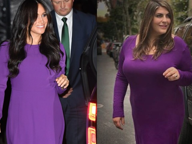 Plus-size blogger slams body shamers after harsh reactions to her Meghan Markle re-creations