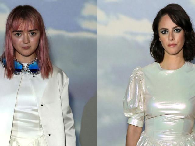 Maisie Williams, Kaya Scodelario, & More Step Out for Christopher Kane Fashion Show