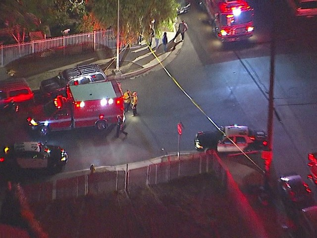 5 hospitalized, including young girl and father, after shooting in Pacoima