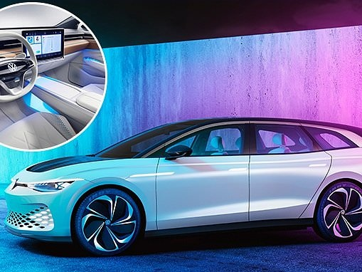 VW reveals an all-electric family estate car it's promising for 2021