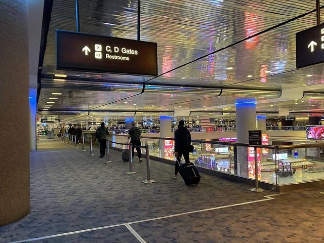 Police officer shoots person at McCarran International Airport
