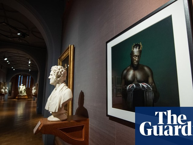 'Nothing but an honour': new Stormzy portrait hung in National Portrait Gallery