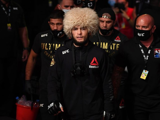 Nurmagomedov receives congratulatory video package from UFC