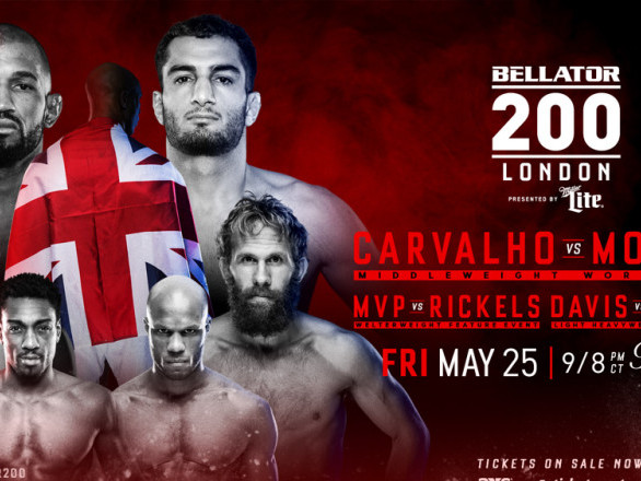 Bellator 200: Carvalho vs. Mousasi play-by-play, results, and discussion
