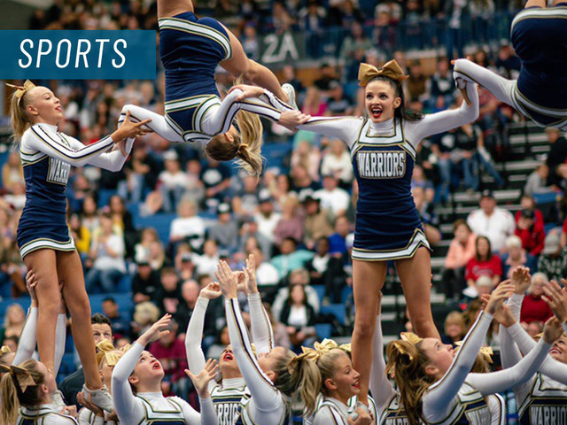 Snow Canyon cheerleaders win state championship for second-straight year