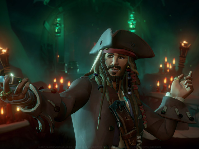 Microsoft brings Pirates Of The Caribbean to Sea Of Thieves and Top Gun to Flight Simulator