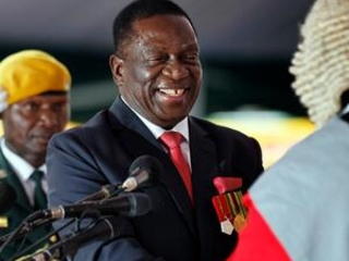 The Latest: Zimbabwe's new leader seeks international help