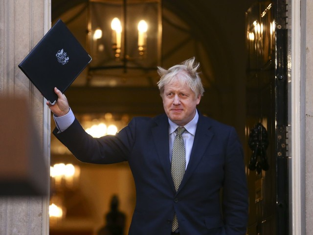 Johnson's victory shakes up Britain and may hit the U.S.