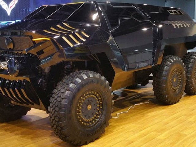 Devel Has Created An Insane Six-Wheeled Concept To Rival Merc's 6x6