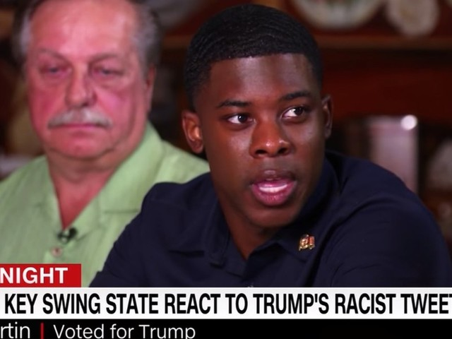 CNN viewers are outraged at what a black Trump supporter said, and they want to find him