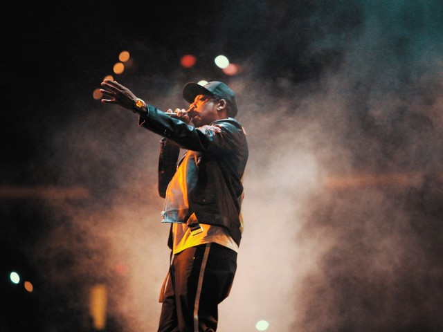 In a nearly perfect concert, Jay-Z embraces his personal imperfections