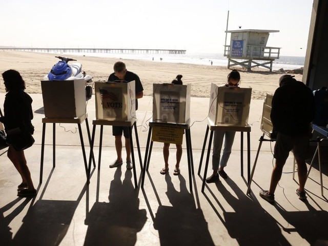 A third party in California? Sorry, not going to happen