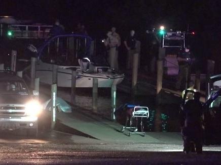 Investigators on scene Wednesday of Chambers County boat crash that killed 3