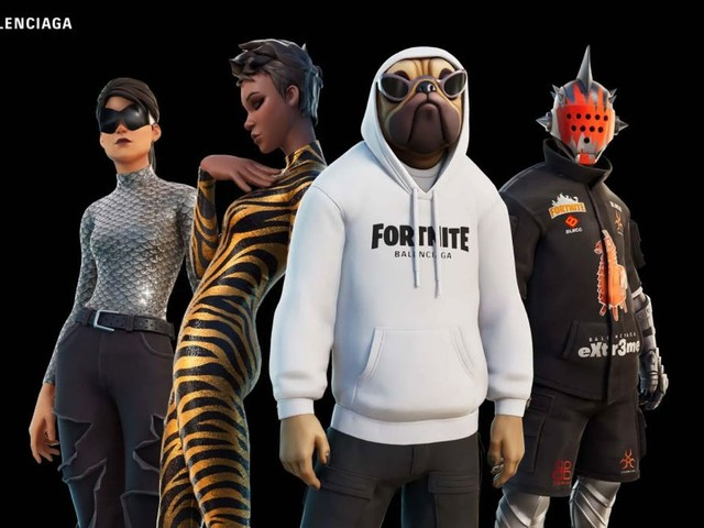 The Fortnite x Balenciaga Collab Is Everything The Game Deserves