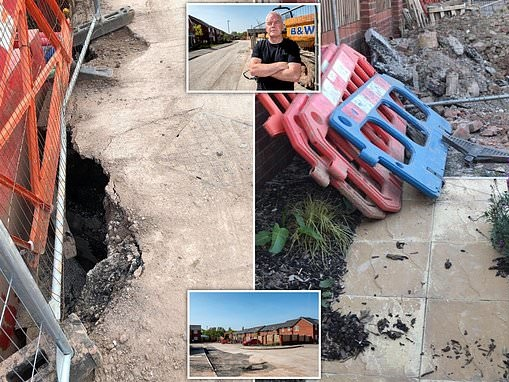 Builder complains about new build Elan Homes house Sefton Park Liverpool