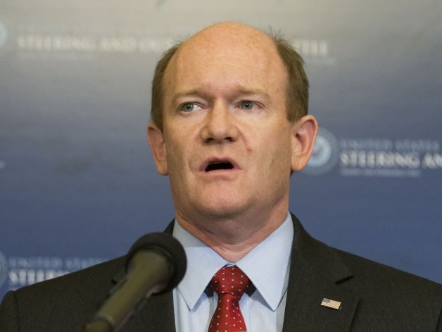 Sen. Coons Announces Opposition to Pompeo for Secretary of State