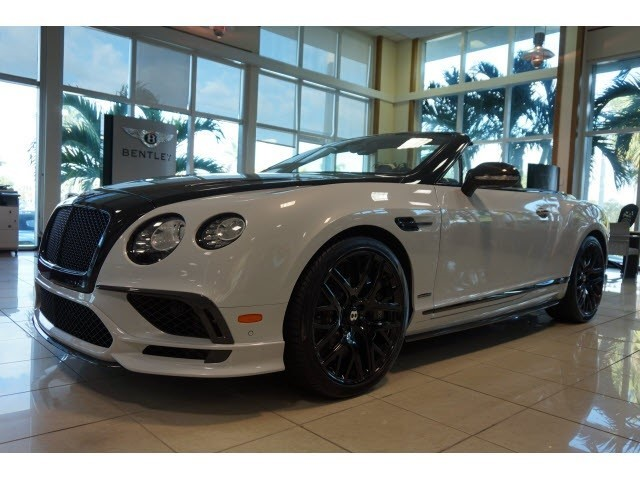 2018 Bentley Continental--Supersports