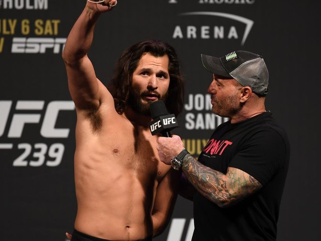 Rogan 'hyped' for Diaz-Masvidal: Nate's one of 'the biggest superstars'