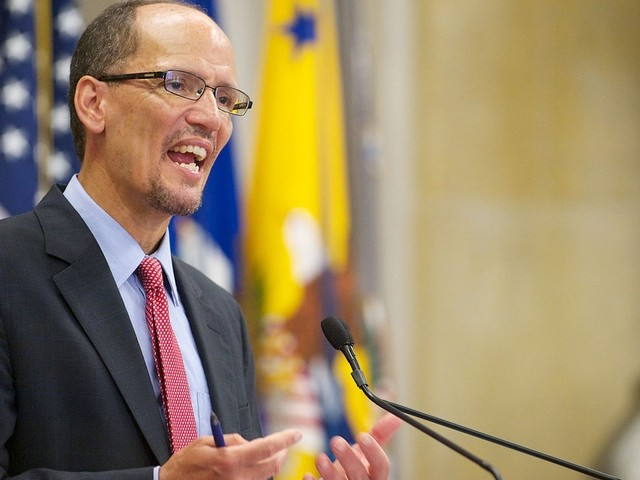 Democratic leader Tom Perez on impeachment fallout and lack of diversity at sixth primary debate
