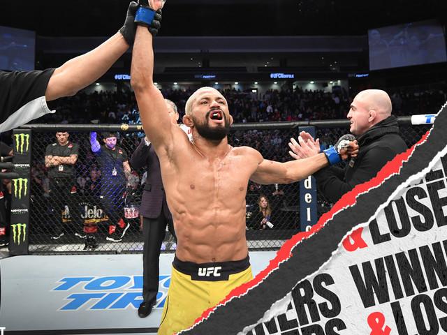 UFC Norfolk: Benavidez vs. Figueiredo - Winners and Losers
