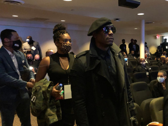 Tyrese, Tiffany Haddish, Kevin Hart, T.I., Luda & More Pay Their Respects At George Floyd's Memorial Service In Minneapolis