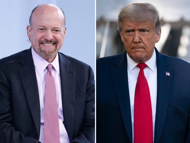 Trump renews attacks on Jim Cramer after CNBC host's 'Crazy Nancy' apology