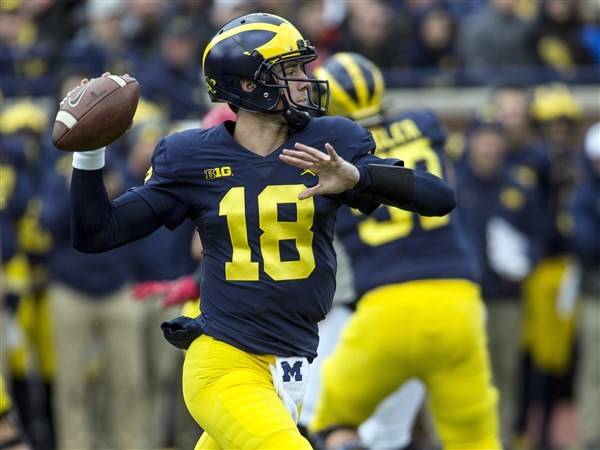 Former Michigan QB Brandon Peters named Illinois starter