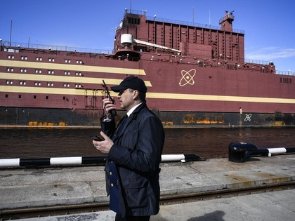 Russia launches floating nuclear reactor