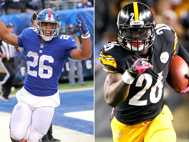 What Saquon Barkley thinks of sharing MetLife with Le'Veon Bell