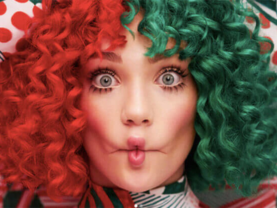 "Sia Unleashes Icy Christmas Ballad ""Snowman"""