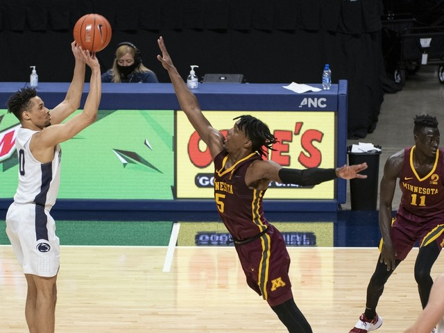 Road record falls to 0-10 as Gophers basketball loses 84-65 to Penn State