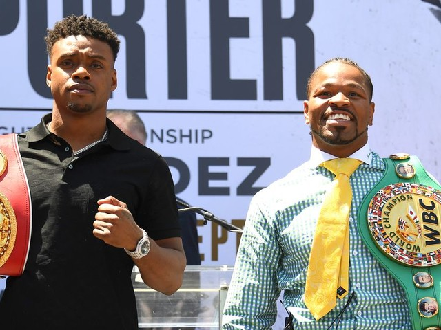 Spence Jr vs. Porter live results, round by round updates