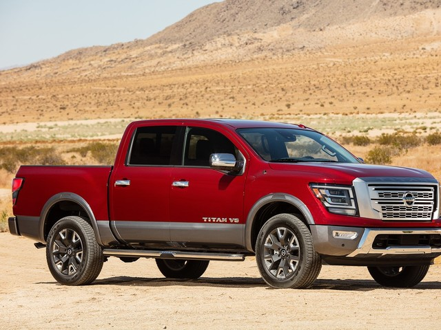 This Just In: Updated 2020 Nissan Titan Debuts at Texas Fair