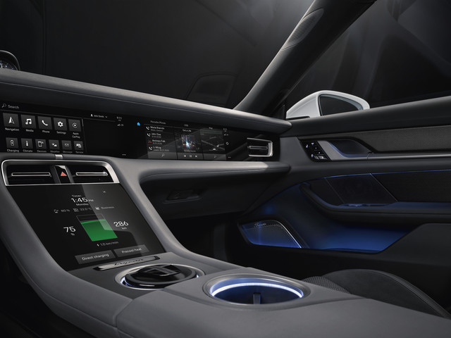 This Just In: Porsche Reveals Taycan Interior Details