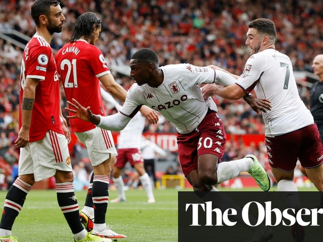 Aston Villa's Kortney Hause wins it as Manchester United blow penalty