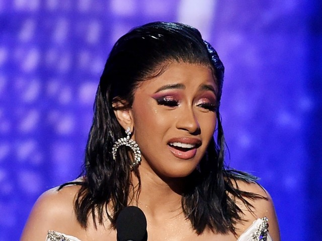 """Cardi B's Video Of Kulture Saying """"Mama"""" For The First Time After Her Grammy Win Is So Cute"""