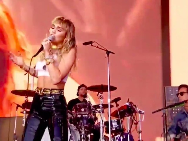 "Miley Cyrus Brings Passion and Power to Her Cover of Amy Winehouse's ""Back to Black"""